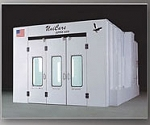 3006 Zapper Series Downdraft Side Exhaust Spraybooth
