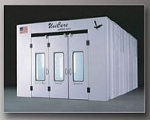 3007 Zapper Series Downdraft Side Exhaust Spraybooth